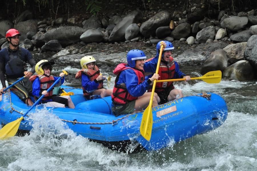 Serendipity Costa Rica Whitewater Rafting - private, custom